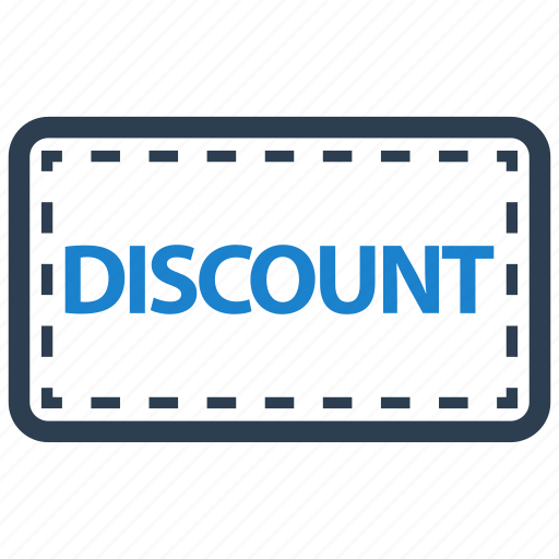 coupon, discount, offer icon