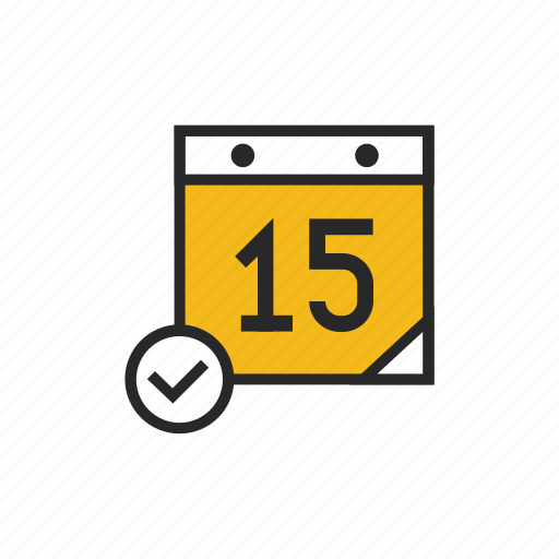 calendar, date, day, event, list, schedule, time icon