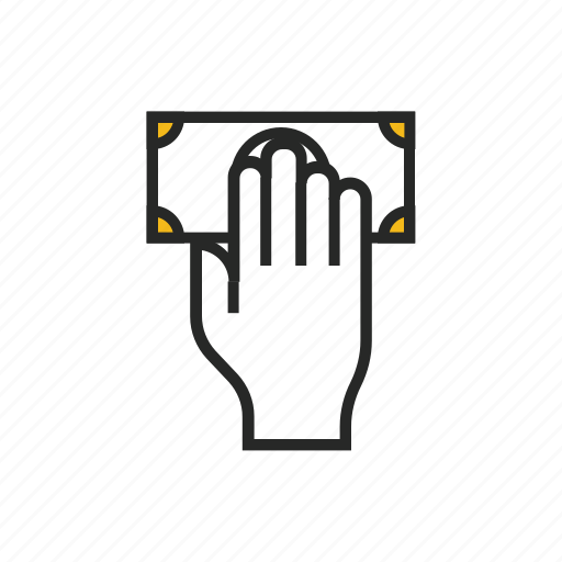 business, cash, currency, dollar, finance, hand, money icon