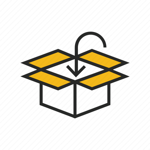 box, delivery, gift, order, package, packing, shipping icon