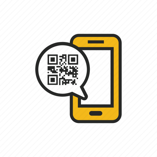 code, device, mobile, phone, qr, scan, smartphone icon