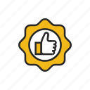 finger, hand, interaction, offer, thumb icon