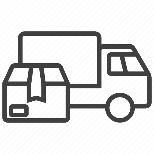 car, deliver, shipping, transportation, truck, van, vehicle icon