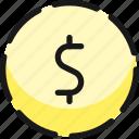 discount, dollar, dash