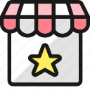 shop, star, rating