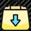shopping, bag, download