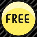 tag, free, circle