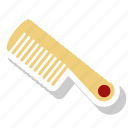 barber, comb, hair, hairdresser icon