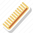 comb, hair, hair accessory, plastic hair icon