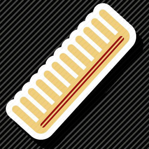 comb, hair, hair accessory, plastic hair icon
