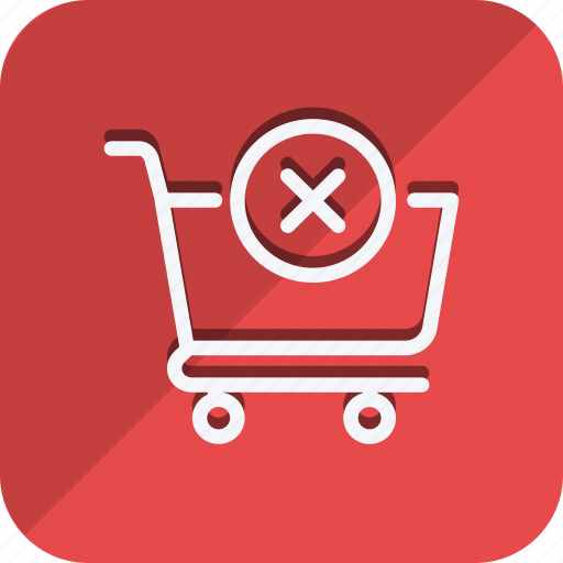 Cart, finance, money, shop, shopping, cross, trolly icon - Download on Iconfinder