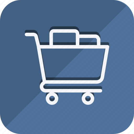 cart, finance, full cart, money, shop, shopping, trolly icon
