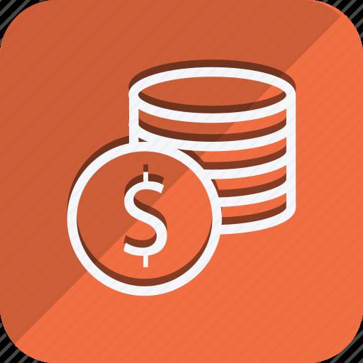 cash, currency, dollar, finance, money, shop, shopping icon