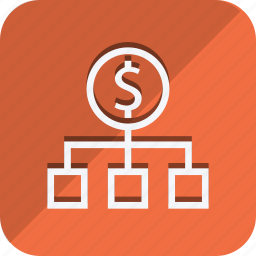 cash, currency, dollar, money, share, shop, shopping icon