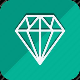 cart, diamond, ecommerce, finance, money, shop, shopping icon