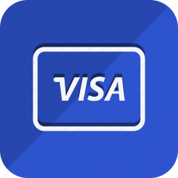 card, credit card, finance, money, shop, shopping, visa card icon