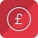 cash, currency, finance, money, pound, shop, shopping icon
