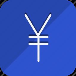 cash, currency, finance, money, shop, shopping, yen icon