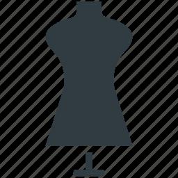 dress designing, dummy, tailor equipment, tailor's mannequin, vintage mannequin icon