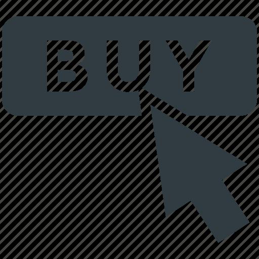 buy, click, e shopping, mouse cursor, online shopping icon