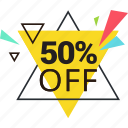 discount, label, offer, price, sale, shopping, sticker icon