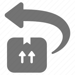 box, cardboard, crate, delivery, package, return, shipping icon