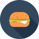 breakfast, burger, eating, fast, food, hamburger, restaurant icon
