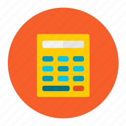 calc, calculator, numbers, shopping, transaction icon