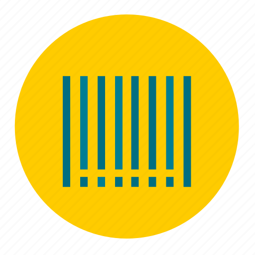 bar, barcode, code, label, shopping icon