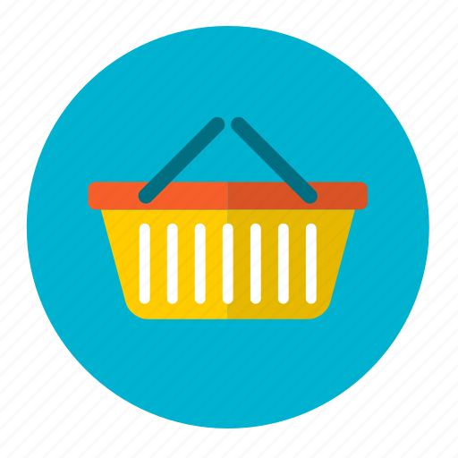 basket, bin, buy, carry, cart, e-commerce, shopping icon
