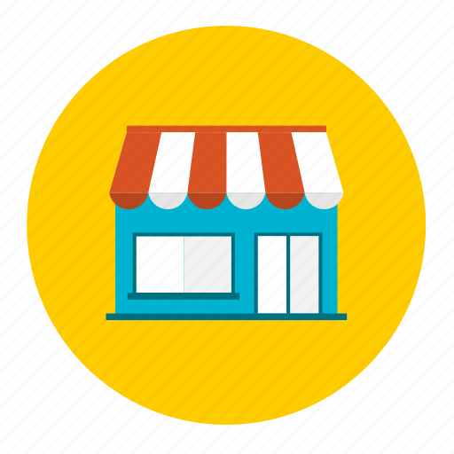 commerce, door, online, shop, shopping, store, trade icon