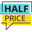 deal, discount, offer, price, sale, shopping, sticker icon