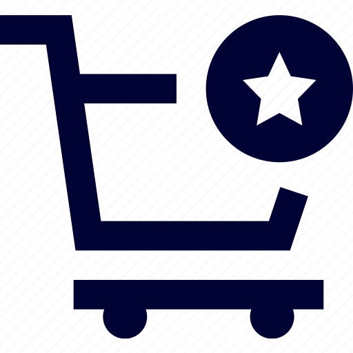 basket, cart, cart favourite, ecommerce, favourite, shopping, star icon