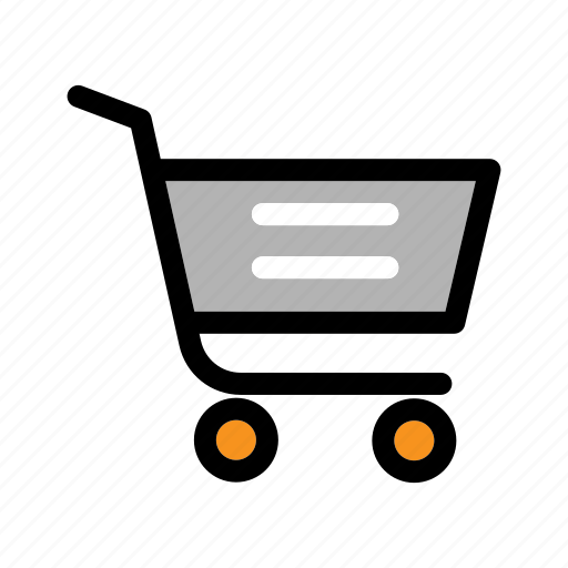 online store, order, purchase, shopping cart, supermarket icon