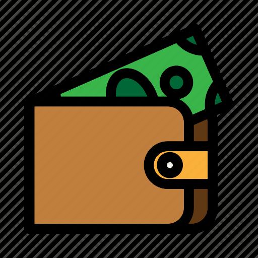 billfold, commerce, finance, holder, wallet icon