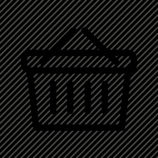 basket, order, purchase, shopping, supermarket icon
