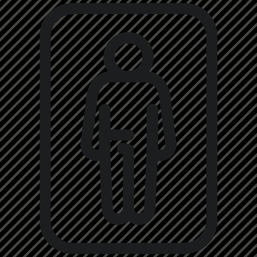 Men, restroom, toilet, wc icon - Download on Iconfinder