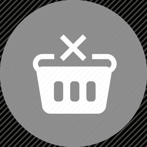 cart, remove from cart, shopping, shopping cart, shopping marketing icon