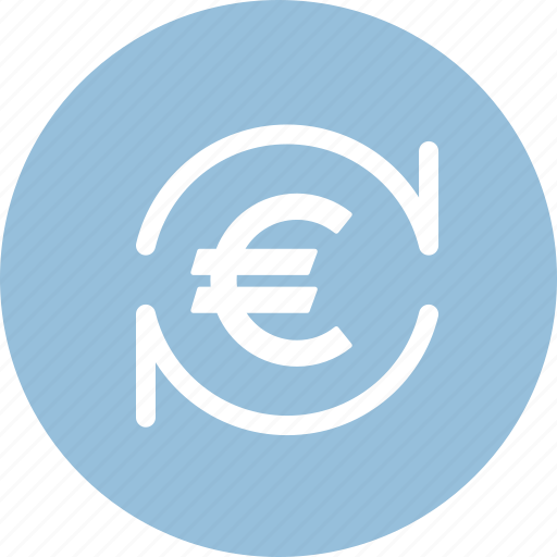 currency exchange, euro, finance, money icon