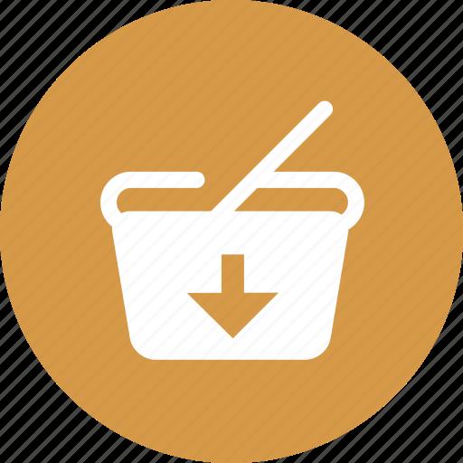 basket, ecommerce, finance, shopping cart, shopping market icon