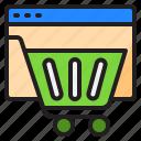 shopping, online, cart, payment, website
