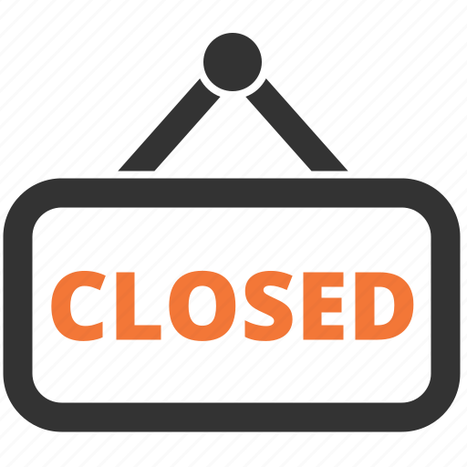 close, closed, store, tablet icon