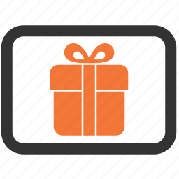 card, gift, giveaway, present icon
