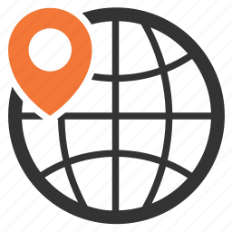 local, search, store, worldwide icon