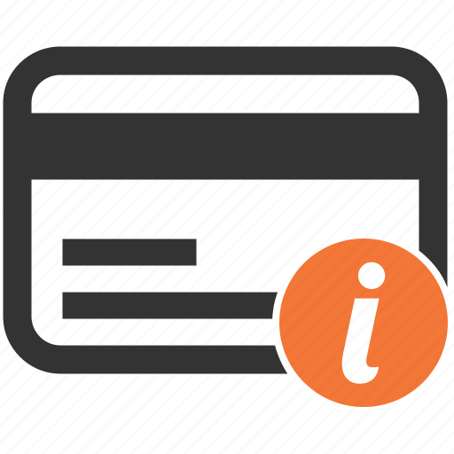 card, credit, information, method, payment icon