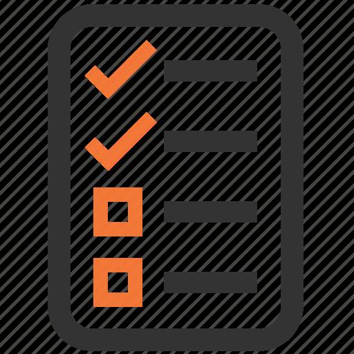 checklist, list, shopping, tracklist icon