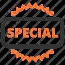 badge, label, offer, special