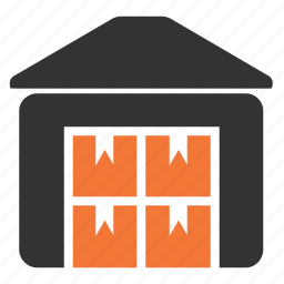 depot, logistics, storage, warehouse icon