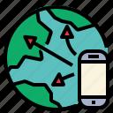 network, online, worldwide, comprehensive, internet icon