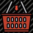 cart, commerce, online, supermarket icon